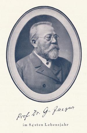 Gustav Jaeger, 83-jährig