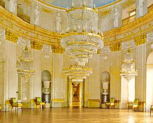 Marmorsaal in Schlosses Ludwigsburg