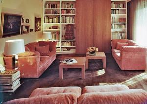 Wohnzimmer der 1970er-Jahre