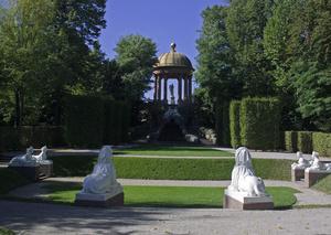 Tempel des Apoll, Schlossgarten Schwetzingen