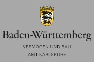 Logo Vermögen und Bau Baden-Württemberg Amt Karlsruhe