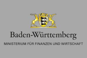 Logo Ministerium für Finanzen und Wirtschaft Baden-Württemberg