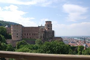 Blick auf das Heidelberger Schloss