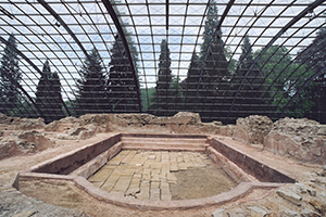 Das Römerbad gilt als die am besten erhaltene Therme nördlich der Alpen (Foto: SSG)