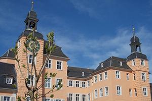 Der sogenannte Ludwigsbau, die Nordseite des Schlosses