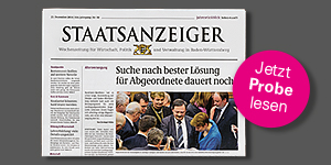 Titelbild Staatsanzeiger