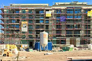 Die Umsätze der Baubetriebe sind von Januar bis August um über zwölf Prozent auf rund 8,7 Milliarden Euro gegenüber dem Vorjahr gestiegen. Foto: leja