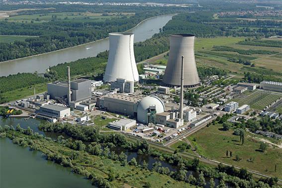 Kernkraftwerk Philippsburg. Foto: EnBW/Daniel Meier-Gerber