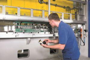 Der Maschinenbauer Schuler in Göppingen exportiert seine Pressen weltweit. Foto: Schuler